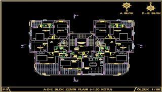 Centralt belägna lyxiga lägenheter att köpa i Alanya Oba, Planritningar-10