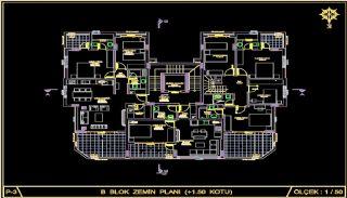 Centralt belägna lyxiga lägenheter att köpa i Alanya Oba, Planritningar-12