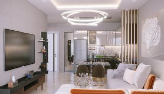 Sea and City View Luxurious Apartments in Alanya Avsallar, Interior Photos-1