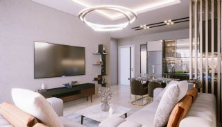Sea and City View Luxurious Apartments in Alanya Avsallar, Interior Photos-3