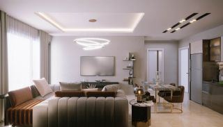 Sea and City View Luxurious Apartments in Alanya Avsallar, Interior Photos-4
