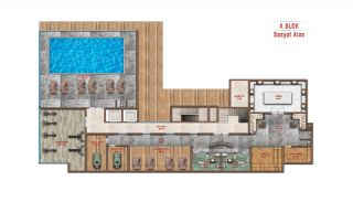 Sea and City View Luxurious Apartments in Alanya Avsallar, Property Plans-8