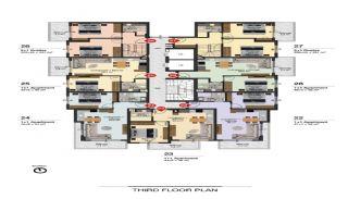 Lyxiga Alanya lägenheter inom gångavstånd till stranden, Planritningar-4