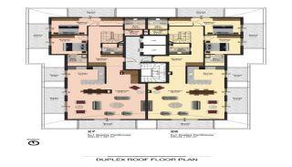 Lyxiga Alanya lägenheter inom gångavstånd till stranden, Planritningar-5