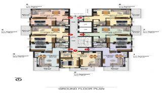 Lyxiga Alanya lägenheter inom gångavstånd till stranden, Planritningar-6