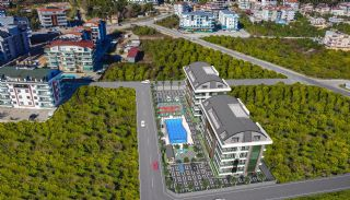 Stilvolle Immobilien in der Nähe der Hauptstraße in Alanya, Alanya / Oba - video