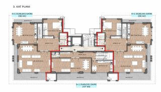 Stylish Real Estate Close to the Main Road in Alanya, Property Plans-1