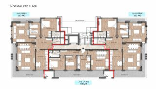 Stylish Real Estate Close to the Main Road in Alanya, Property Plans-3