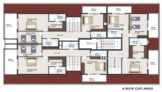 Centrally Located Apartments Close to Seashore in Alanya, Property Plans-5