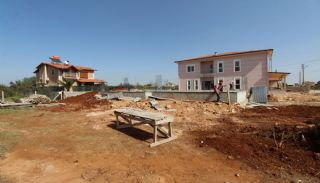Nouvelle Villa Individuelle à Antalya Avec Piscine Privée,  Photos de Construction-2