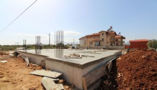 Nouvelle Villa Individuelle à Antalya Avec Piscine Privée,  Photos de Construction-4