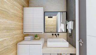 Newly Built Apartments at a Great Location in Alanya Center, Interior Photos-8
