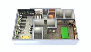 Новые Квартиры в Анталии в Пешей Доступности от Моря, Планировка -1