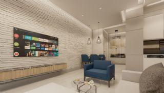 Nya lägenheter nära havet i centrum av Mahmutlar, Interiör bilder-8