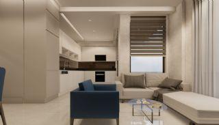 Appartementen dicht bij de zee in het centrum van Mahmutlar, Interieur Foto-9