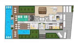 Appartementen dicht bij de zee in het centrum van Mahmutlar, Vloer Plannen-4