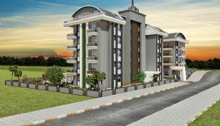 Lägenheter av hög kvalitet i ett lyxigt komplex i Alanya, Alanya / Oba - video