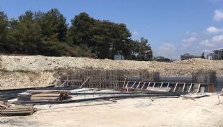 Appartements Projet de Luxe Près de la Mer à Alanya Avsallar,  Photos de Construction-1