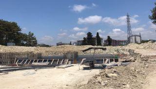 Appartements Projet de Luxe Près de la Mer à Alanya Avsallar,  Photos de Construction-2