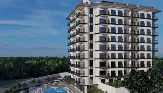 Apartments of Luxury Project Near the Sea in Alanya Avsallar, Alanya / Avsallar - video