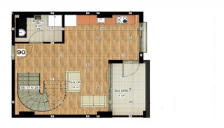 Apartments of Luxury Project Near the Sea in Alanya Avsallar, Property Plans-4