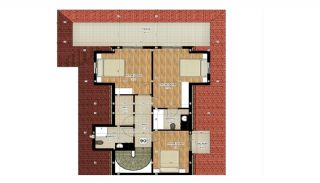 Apartments of Luxury Project Near the Sea in Alanya Avsallar, Property Plans-5