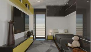 فلل شبه منفصلة بتصميم عصري في أنطاليا كونيالتي, تصاوير المبنى من الداخل-13