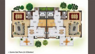 فلل شبه منفصلة بتصميم عصري في أنطاليا كونيالتي, مخططات العقار-2
