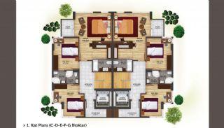 فلل شبه منفصلة بتصميم عصري في أنطاليا كونيالتي, مخططات العقار-7