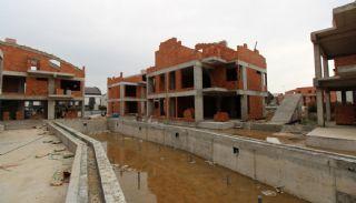 Antalya Villen im luxuriösen Komplex Nähe des Strandes, Foto's Bau-4