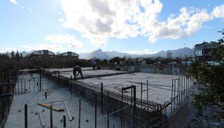 Nouvelles Villas Mitoyennes Avec Piscine Privée à Antalya,  Photos de Construction-4