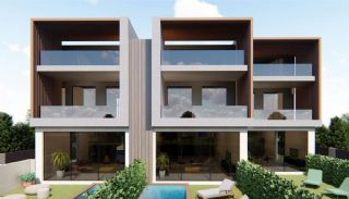 Nouvelles Villas Mitoyennes Avec Piscine Privée à Antalya, Antalya / Konyaalti