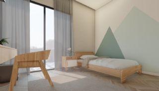 Nouvelles Villas Mitoyennes Avec Piscine Privée à Antalya, Photo Interieur-10
