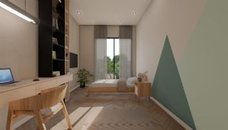Nouvelles Villas Mitoyennes Avec Piscine Privée à Antalya, Photo Interieur-11