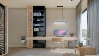 Nouvelles Villas Mitoyennes Avec Piscine Privée à Antalya, Photo Interieur-12