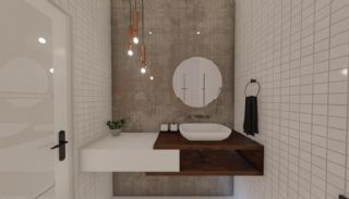 Nouvelles Villas Mitoyennes Avec Piscine Privée à Antalya, Photo Interieur-15