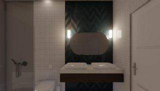 Nouvelles Villas Mitoyennes Avec Piscine Privée à Antalya, Photo Interieur-16