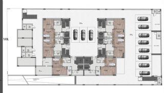 Nouvelles Villas Mitoyennes Avec Piscine Privée à Antalya, Projet Immobiliers-1