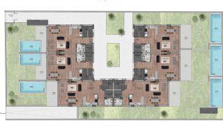 Nouvelles Villas Mitoyennes Avec Piscine Privée à Antalya, Projet Immobiliers-2