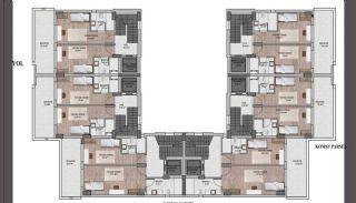 Nouvelles Villas Mitoyennes Avec Piscine Privée à Antalya, Projet Immobiliers-3