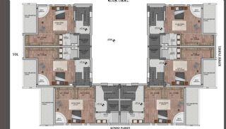 Nouvelles Villas Mitoyennes Avec Piscine Privée à Antalya, Projet Immobiliers-4