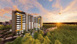 Antalya Appartementen met dakterras, dichtbij de luchthaven, Antalya / Aksu