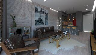 Appartements à Antalya Avec Salon au Toit Près de l'Aéroport, Photo Interieur-1