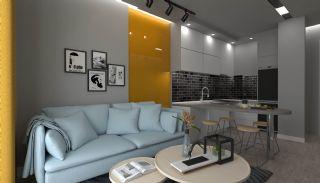 Appartements à Antalya Avec Salon au Toit Près de l'Aéroport, Photo Interieur-11