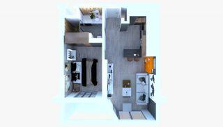 Appartements à Antalya Avec Salon au Toit Près de l'Aéroport, Photo Interieur-18