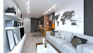 Antalya Appartementen met dakterras, dichtbij de luchthaven, Interieur Foto-4
