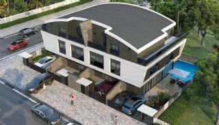 Modern gestaltete Doppelhaushälften in Antalya Kundu, Antalya / Kundu - video
