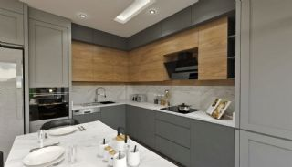 Modern gestaltete Doppelhaushälften in Antalya Kundu, Foto's Innenbereich-5