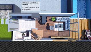 Modern gestaltete Doppelhaushälften in Antalya Kundu, Immobilienplaene-10