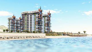 Alanya fastigheter vid stranden i komplex med full aktivitet, Alanya / Mahmutlar